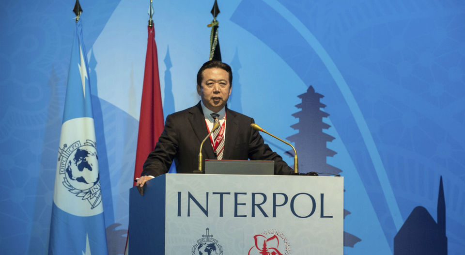 ¿Quién es el polémico nuevo jefe chino de Interpol?