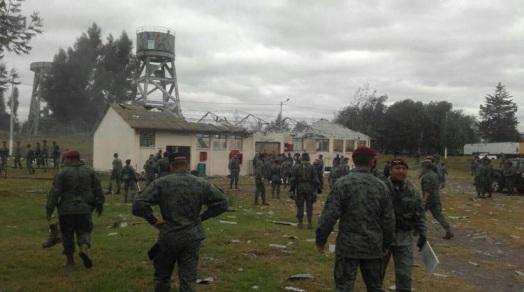 Un muerto y cinco heridos tras explosión en la Brigada Patria