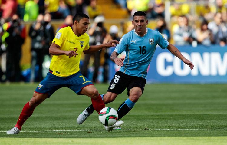 Ecuador con la frente en alto tras el partido contra Uruguay