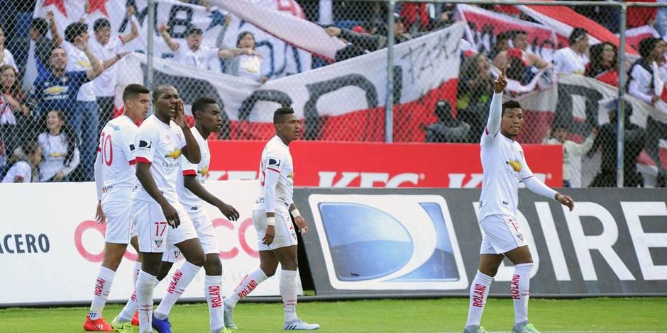 Liga (Q) por conseguir cupo a Libertadores
