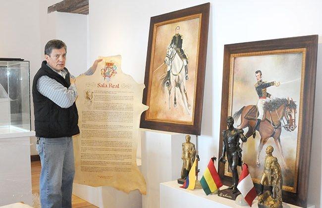 Sala real, recrean la historia de Cuenca.