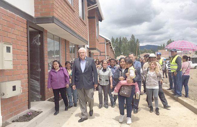 El MIDUVI preadjudica las 98 primeras casas