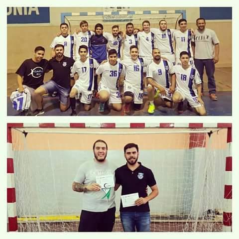 3° puesto handball para Catriel