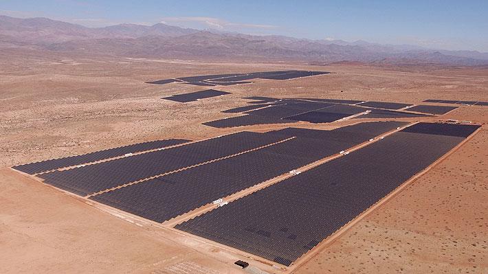 En Vallenar entró en funciones la planta solar fotovoltaica más grande de Latinoamérica