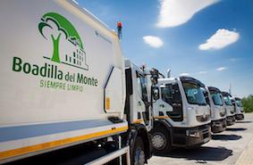 Boadilla cuenta con seis nuevos camiones de la basura