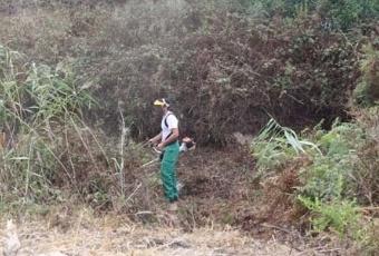 Último día para desbrozar las parcelas particulares en Majadahonda