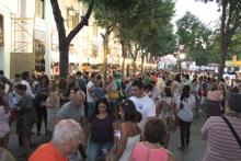 Cientos de vecinos participaron en la tómbola de la hermandad del Santísimo Cristo del Milagro