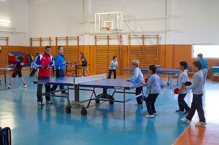 Primer club de tenis de mesa de Boadilla