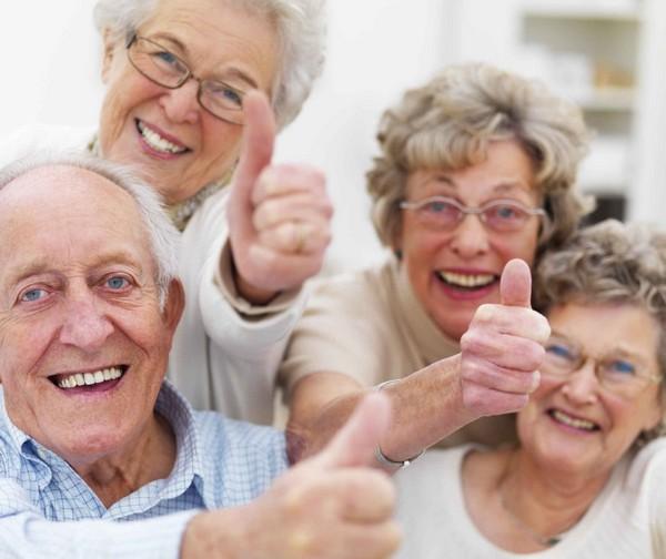 Los mayores y la salud bucodental