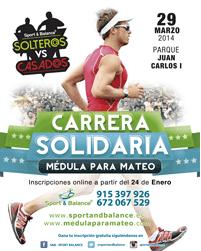 Corre al lado de Medulaparamateo el próximo 29 de marzo