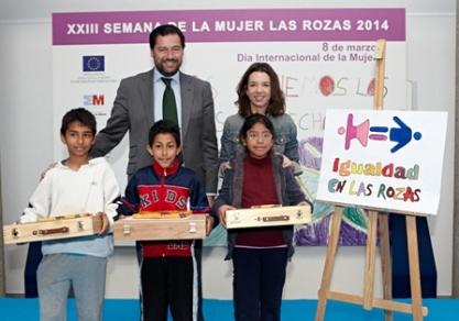 El Vicente Aleixandre gana el Concurso de Carteles por la Igualdad