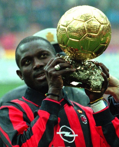 Weah, el primer Balón de Oro africano