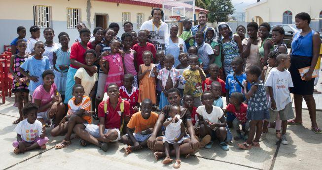Partido solidario a favor de los niños de Malabo