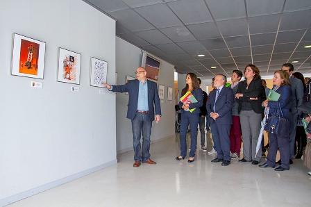 El Auditorio Municipal acoge la exposición `Apaguemos el maltrato´