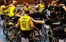Las Rozas acoge la Copa de Europa de Baloncesto en Silla de Ruedas