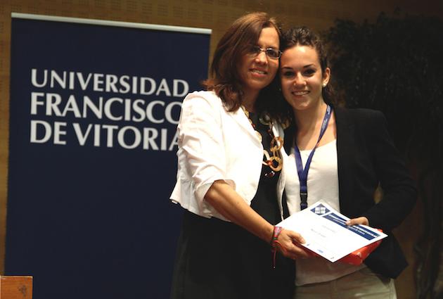 Teresa Pérez, Mejor Oradora en el II Torneo Intermunicipal de Debate Escolar