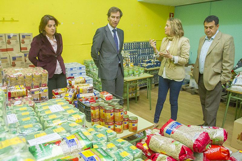 Boadilla pondrá una campaña especial de recogida de alimentos