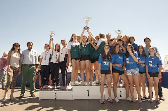 Entrega de trofeos de los Juegos municipales de Las Rozas