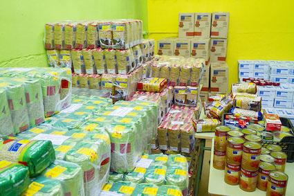 El Banco de Alimentos de Boadilla recauda más de 2.700 kilos de comida