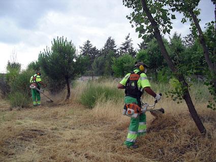 Las Rozas pide precaución a sus vecinos con el riesgo de incendio