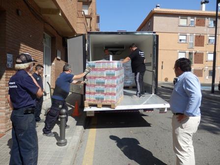 Más de dos toneladas de alimentos para los más necesitados