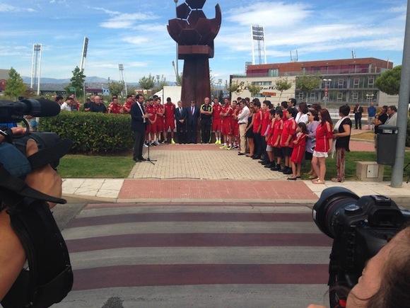 Las Rozas homenajea a Luis Aragonés