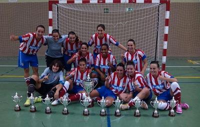 El Futsi Atlético Féminas conquista la Supercopa