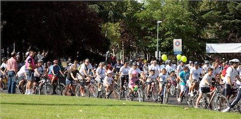 La Fiesta de la Bicicleta cumple 15 años en Majadahonda