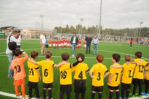 Comienza la temporada de fútbol con campos renovados
