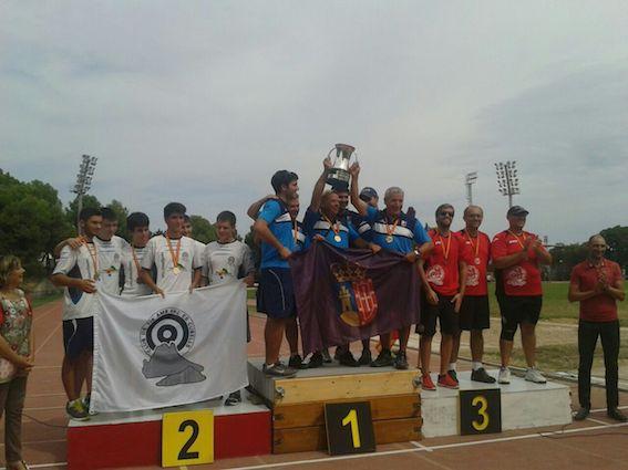Los Arqueros de Pozuelo, campeones de España del Campeonato de Clubes y de la Copa de S.M. el Rey