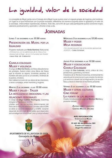 Arrancan las Jornadas La Igualdad en Villaviciosa
