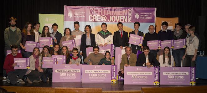 Los jóvenes muestran su talento en el Certamen municipal CRE@ de Pozuelo