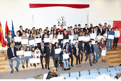 La Fundación Marazuela entrega becas a 50 deportistas de Las Rozas