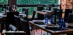 Un restaurante diferente en plena sierra de Madrid