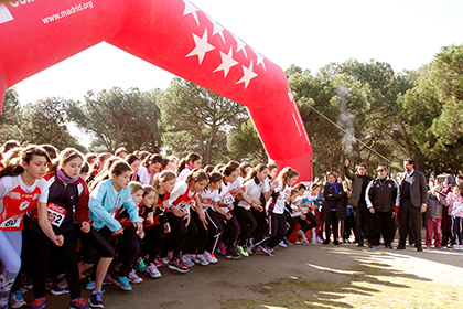 3.000 alumnos participan en el II Campeonato de Cross Escolar de Madrid