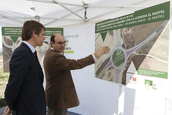 Una rotonda unirá las urbanizaciones históricas con el Valenoso y el Sector B