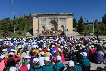 Boadilla, punto de encuentro de escolares de Red de Escuelas Asociadas de la UNESCO