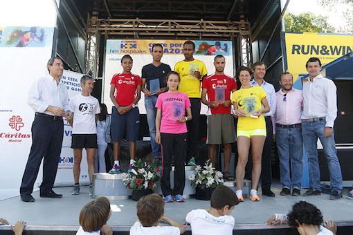 """Más de 500 personas han participado en la carrera """"Corre por la vida"""""""