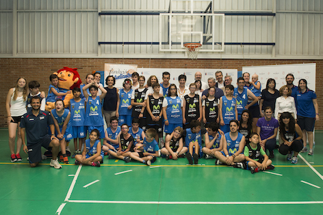 Final de curso de la Escuela Municipal de Baloncesto Adaptada de Pozuelo