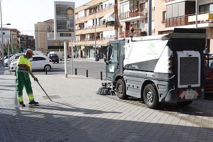 Empieza la operación especial de limpieza en Boadilla