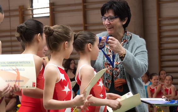 200 gimnastas participan en la Fase Local de Gimnasia Artística