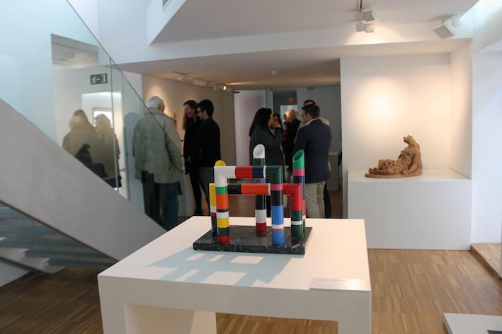 La escultura protagoniza la nueva exposición del Centro Cultural Padre Vallet