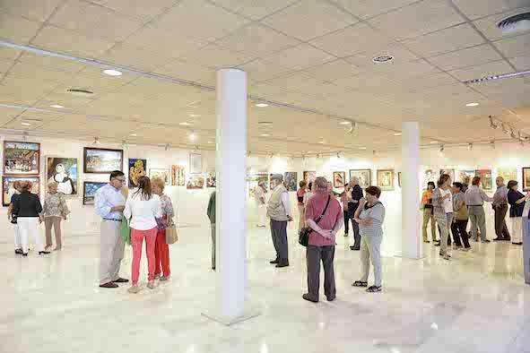 Pintores de Boadilla exponen su obra en el Centro de Formación