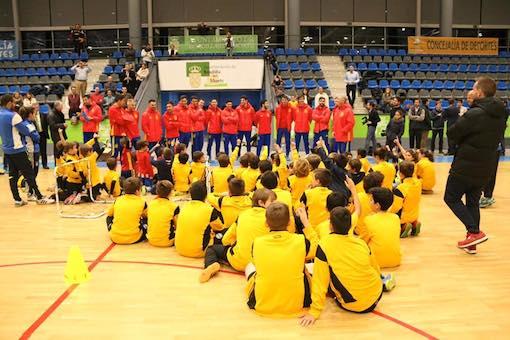 Máster class de la Selección Española absoluta de fútbol