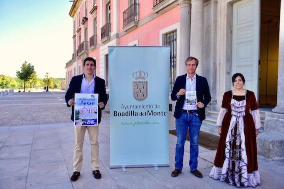 Visitas teatralizadas  gratis al Palacio de Boadilla
