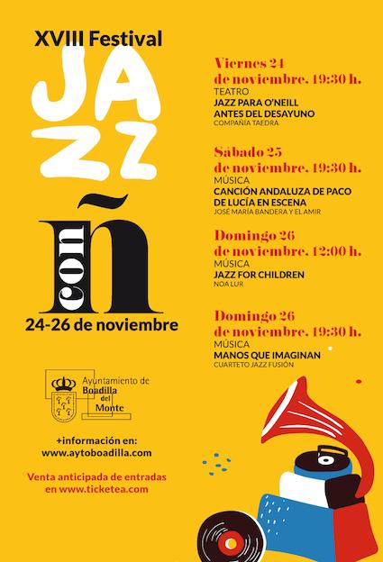 Regresa el Festival de Jazz a Boadilla
