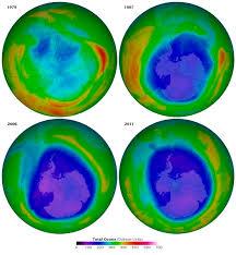 Poco a poco la capa de ozono se está recuperando
