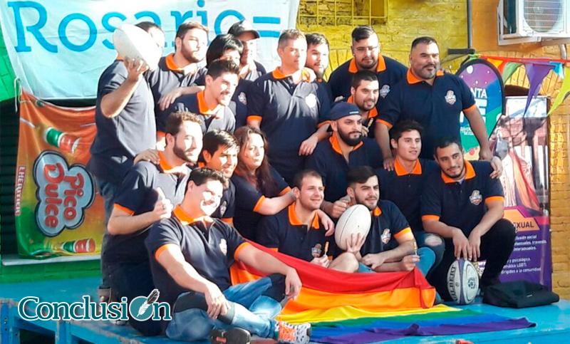 Lobitos de Río, el equipo de rugby rosarino que milita por la diversidad sexual