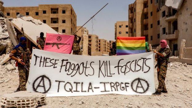 El Ejército de Liberación e Insurrección Queer ya lucha contra ISIS en el norte de Siria (UniversoGay.com)