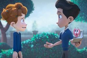 """""""In a Heartbeat"""", el exitoso corto animado sobre un amor gay en la infancia (Infobae)"""